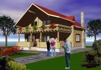 Proiect casa din barne