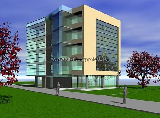 Arhitectura imobil birouri