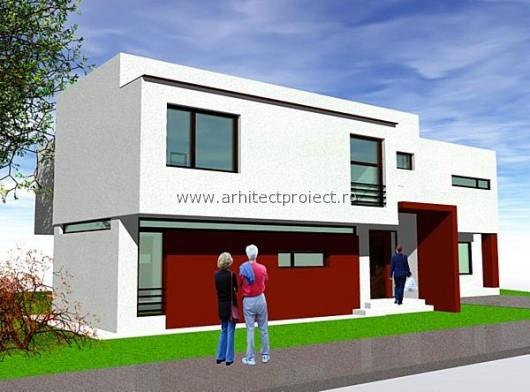 Proiect de casa cuplata
