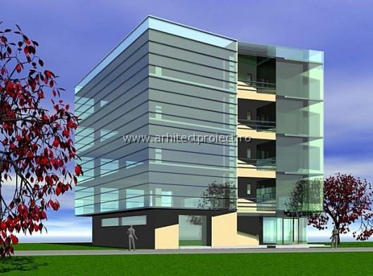 Proiect imobil birouri